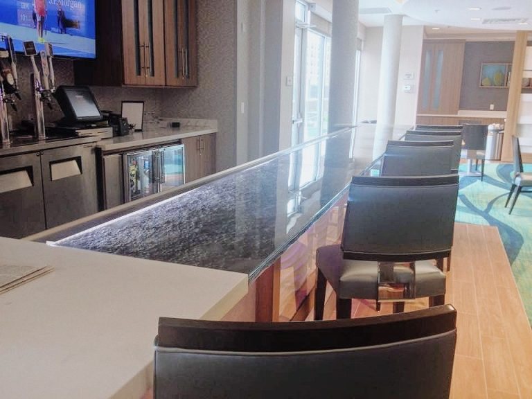 Custom Glass Shelves Dallas Fort Worth